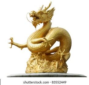 Gold Dragon Images, Stock Photos & Vectors   Shutterstock