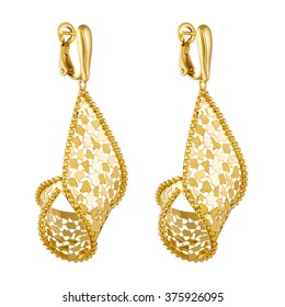 a3111f227 Gold Earrings Images, Stock Photos & Vectors | Shutterstock