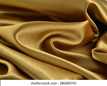 Gold Fabric Background