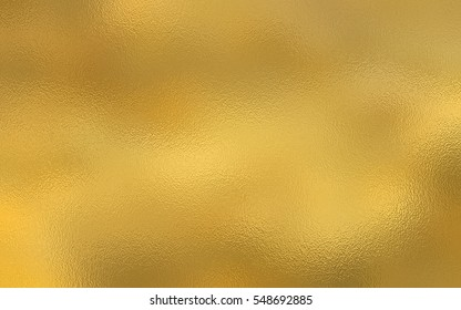 Gold foil paper decorative texture background.