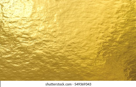 Gold foil paper decorative texture background