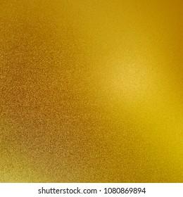 Gold foil texture background light