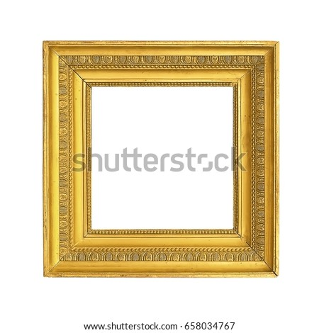 Gold Frame Paintings Mirrors Photos Stock Photo (Edit Now) 658034767 ...