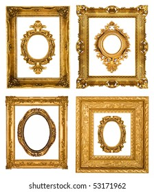 Gold frames, similar sets available in my portfolio