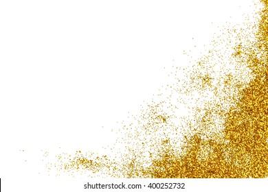 Gold Glitter for Background