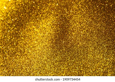 Gold glitter background, Gold abstract background with blurred bokeh, Abstract bokeh lights with soft light background.
