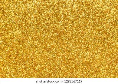 Gold glitter texture background, christmas wallpaper