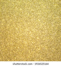 Gold glitter texture background sparkling shiny wrapping paper for Christmas holiday seasonal wallpaper  decoration, greeting and wedding invitation card design element