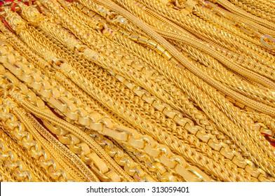 gold in goldshop