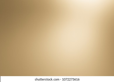 Gold gradient background. Brown color abstract background