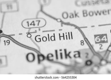 Gold Hill. Alabama. USA