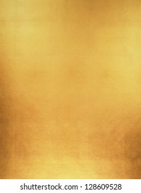 Gold Leaf Background / Luxury gold paper texture background