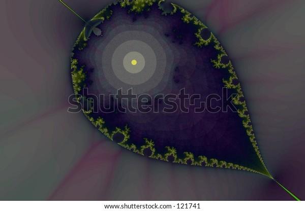 gold leaf fractal