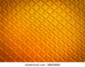 Gold leather texture pattern background , Gold square background, for design