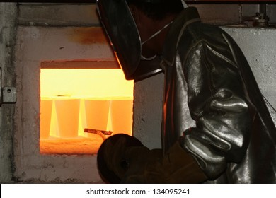 gold manufacture in metallurgic industry