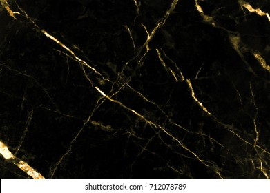 Gold marble texture with lots of bold contrasting veining ( Abstract black and gold background, Can also be used for create surface effect to architectural slab, ceramic floor and wall tiles )