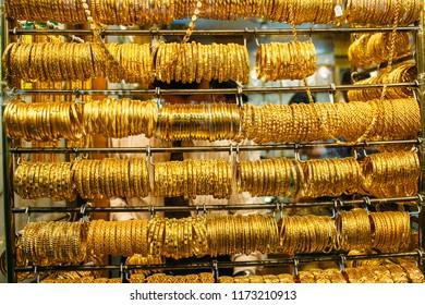 Gold Market in Dubai, UAE