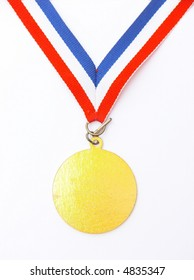 gold medal - isolated