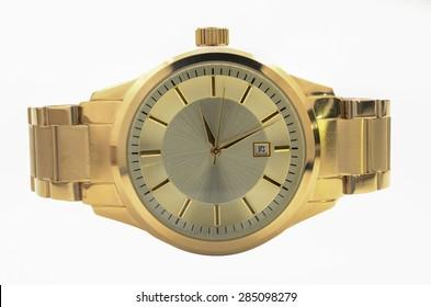 Gold Men's Wrist Watches