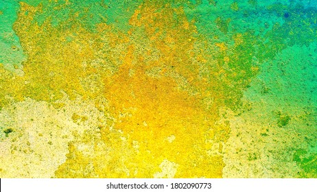 Gold metal background with structure