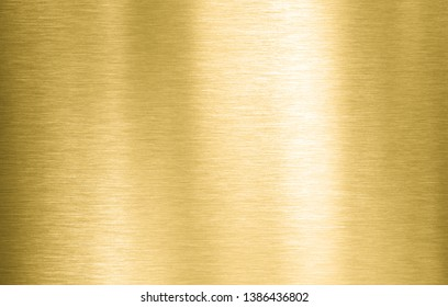Gold metal brushed background or texture