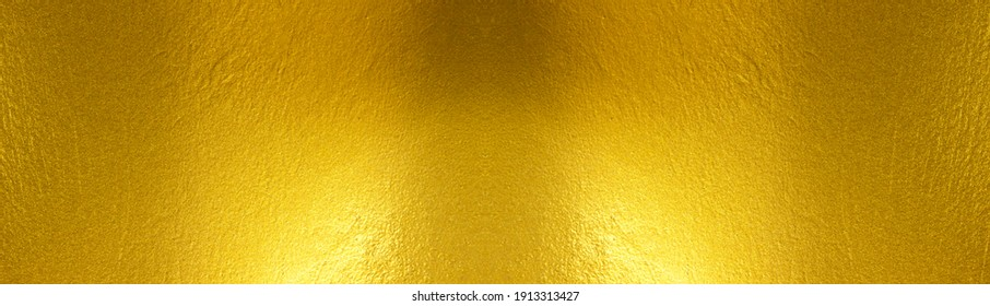 Gold metal brushed background or texture of brushed steel