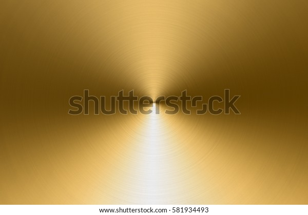 Gold metal with light and shadow background
