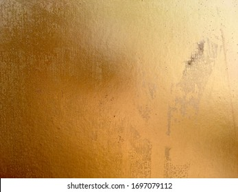 Gold metal surface texture and background