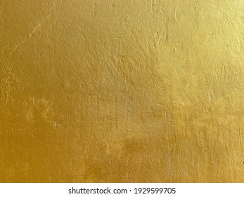 Gold metal surface texture background abstract