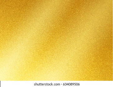 gold metal texture background with oblique line of light to insert text or design