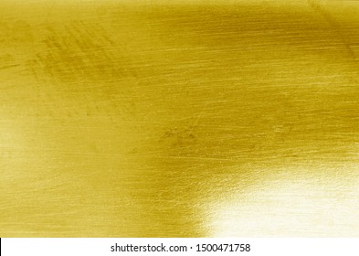Gold metal, texture, stainless steel background (iron)