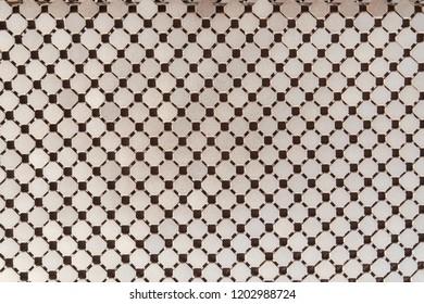 Gold metallic bag pattern texture background