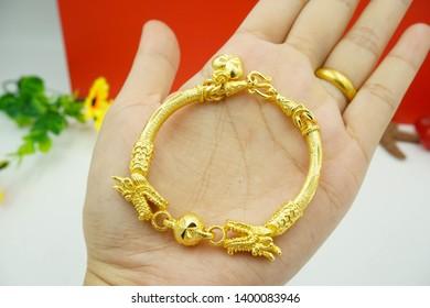 gold micron bracelet necklace ring