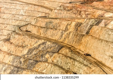 Gold mine open pit... The famous Super Pit in Kalgoorlie Western Australia