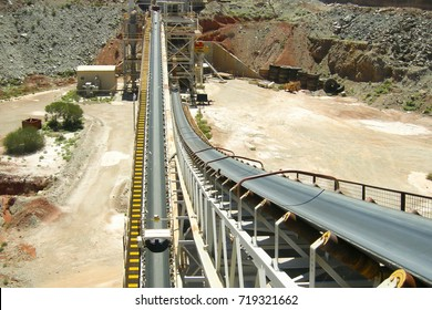 Gold Mining Process Plant Conveyor Belt