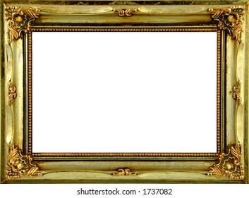 Gold Ornate Frame