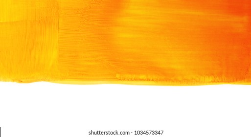 gold paint smear yellow stroke stain abstract golden glittering textured art