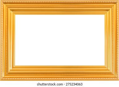 gold picture frame. Isolated over white background, Vintage frames. Vintage frame style. Frame isolated. Picture frame. Photo frames. Frames set. Museum frame. . Elegance frame. Exhibition frames.