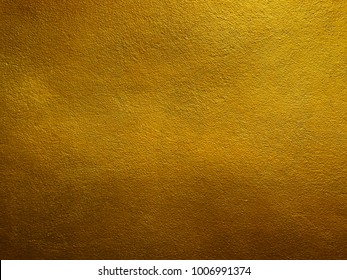 Gold Plaster concrete Wall,golden Background