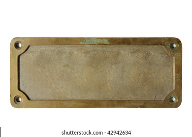Antique Brass Plate Images Stock Photos Amp Vectors