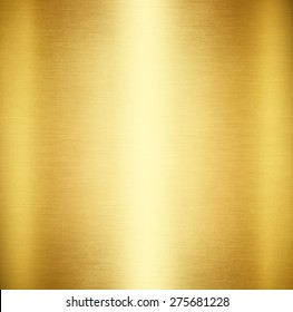 Gold Polished Metal Steel Texture