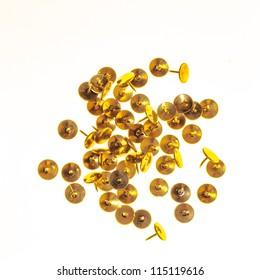 gold pushpin