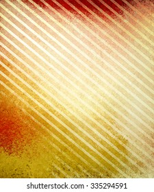 gold and red striped background with faded grunge textured lines in diagonal slant