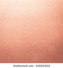Gold rose foil pink texture