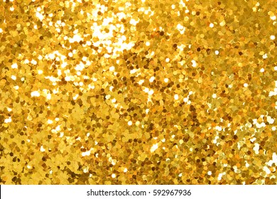 gold sequined background texture