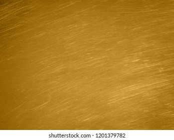 the gold sheet metal texture with scratches