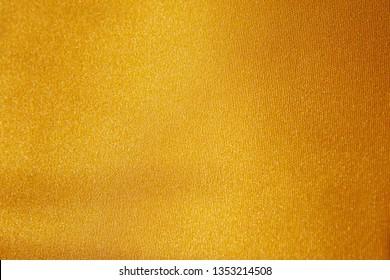 Gold shiny fabric