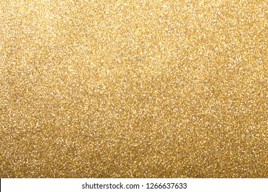 Gold silver glitter background, shiny wrapping paper  defocus