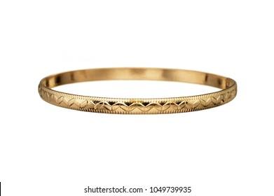 gold single bangle