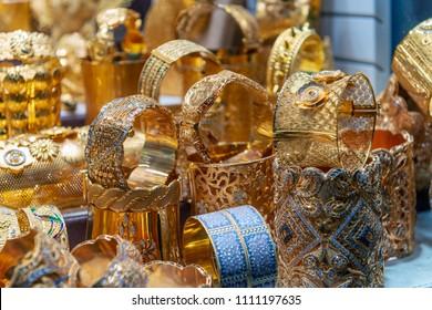 Gold Souk in Dubai, United Arab Emirates.